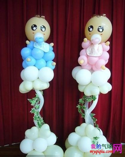 气球造型 图片 54k 418x523